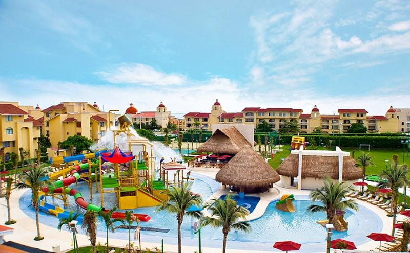 Viaje en Familia, All Ritmo Cancun Resort & Water Park  4Noches