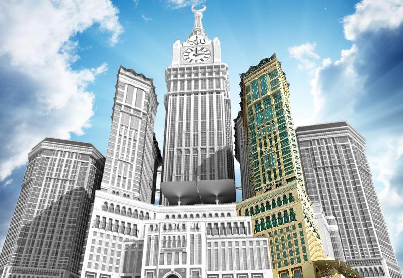 عمرة ( ٣ ليالي في فنادق ٥* فاخرة ) مكة - فندق قصر مكة رافلز