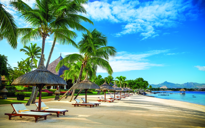 7 nights Mauritius with Business Class flights: Luxe hotel with Half Board, flights from Ljubljana, airport transfers